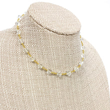 Load image into Gallery viewer, Clear Beaded Short Necklace