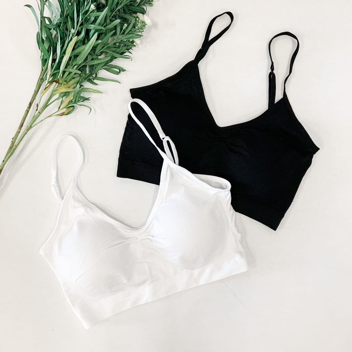 Rouched Bralette with Cups