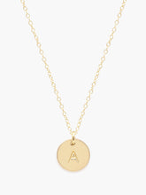 Load image into Gallery viewer, ABLE Mini Initial Necklace - Gold