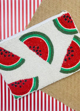 Load image into Gallery viewer, Watermelon Beaded Crossbody - Ivory