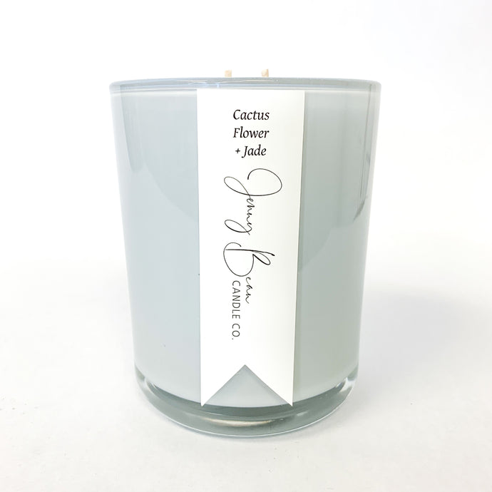 Jenny Bean Candle - Cactus Flower + Jade
