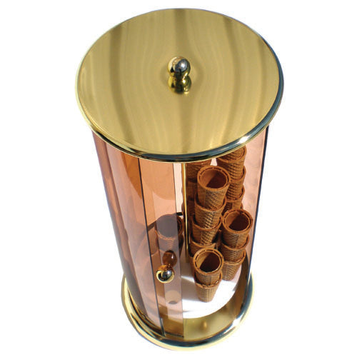 Vertical Cone Holder Brass