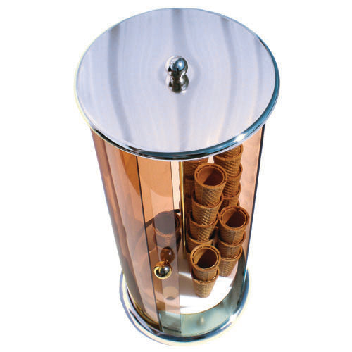 Vertical Cone Holder Chrome