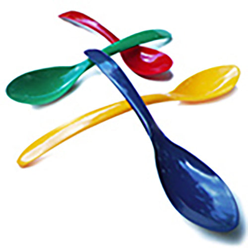 Yogurt Spoons Solid Mixed Colors