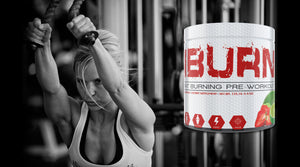 iBurn Fat Burning Pre-Workout Supplement by M4 Nutrition