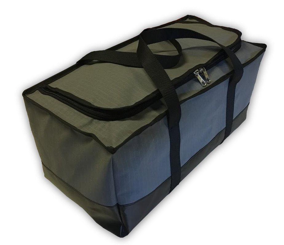 canvas and PVC waterproof bags for camping and campertrailers