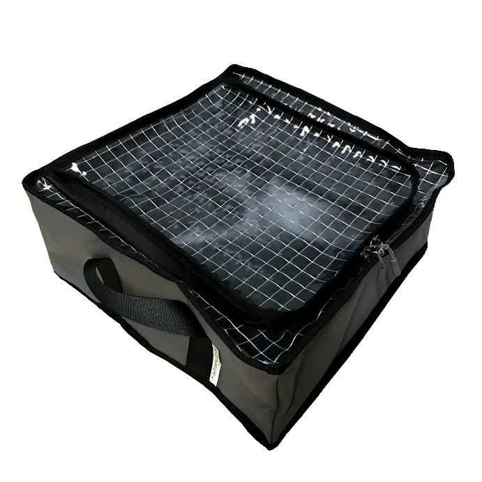 Reinforced clear top drawer bag