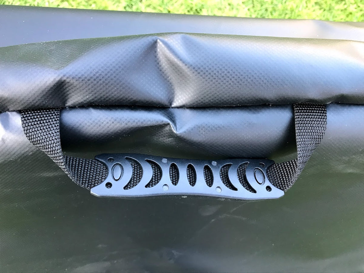 Moulded carry handles for the Weber portable stand carry bag