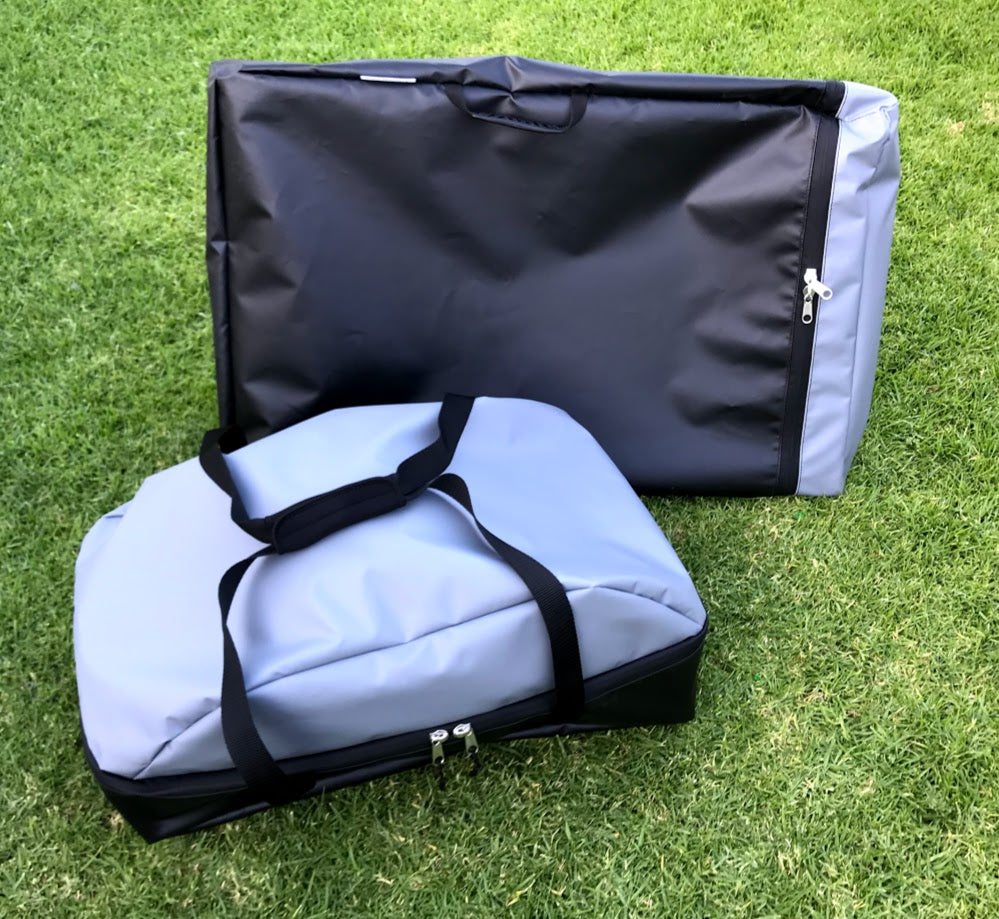 Carry bags to suit the Weber baby Q and portable stand