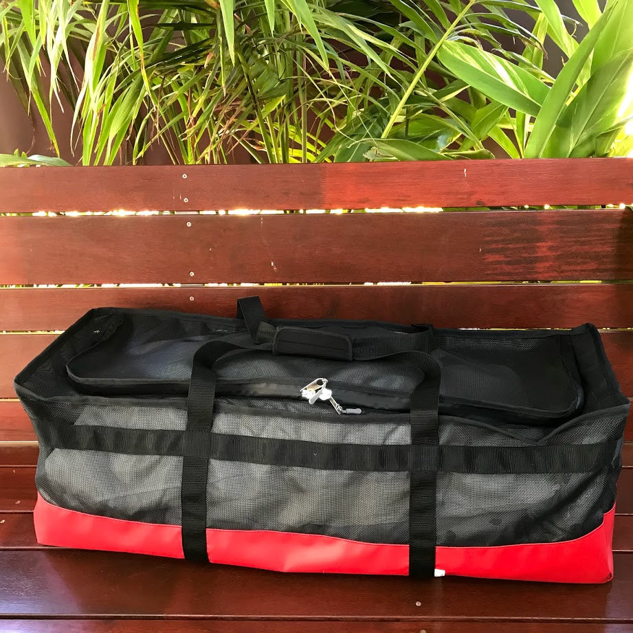 Mesh Water Sports bag X Long for dive fins