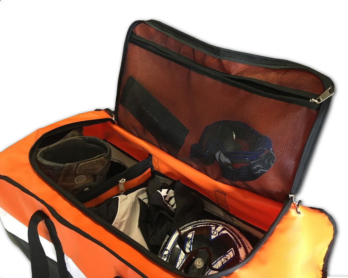 KTM coloured six 6 days gear bag