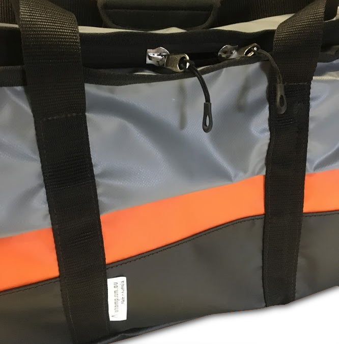 Custom made motorcycle gear bags