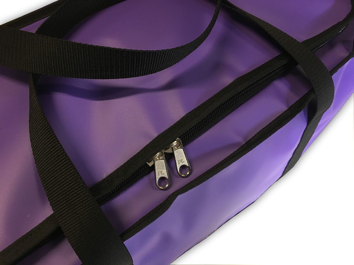 Purple girls camping horse tack gear bag