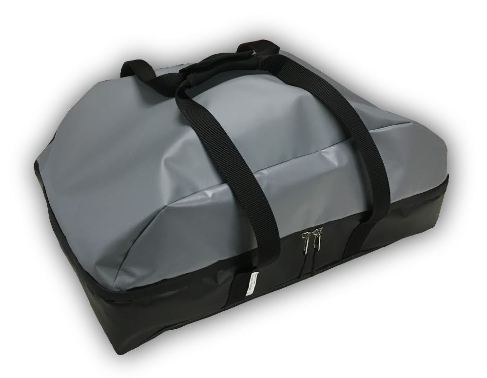 The best carry bag for a Ziegler and brown Ziggy BBQ duffle bag