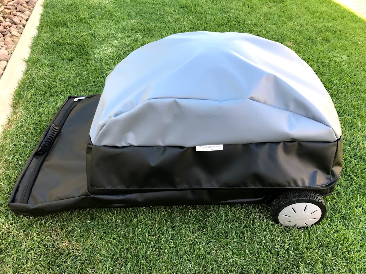 Weber Baby Q and Portable Cart Travel Bag