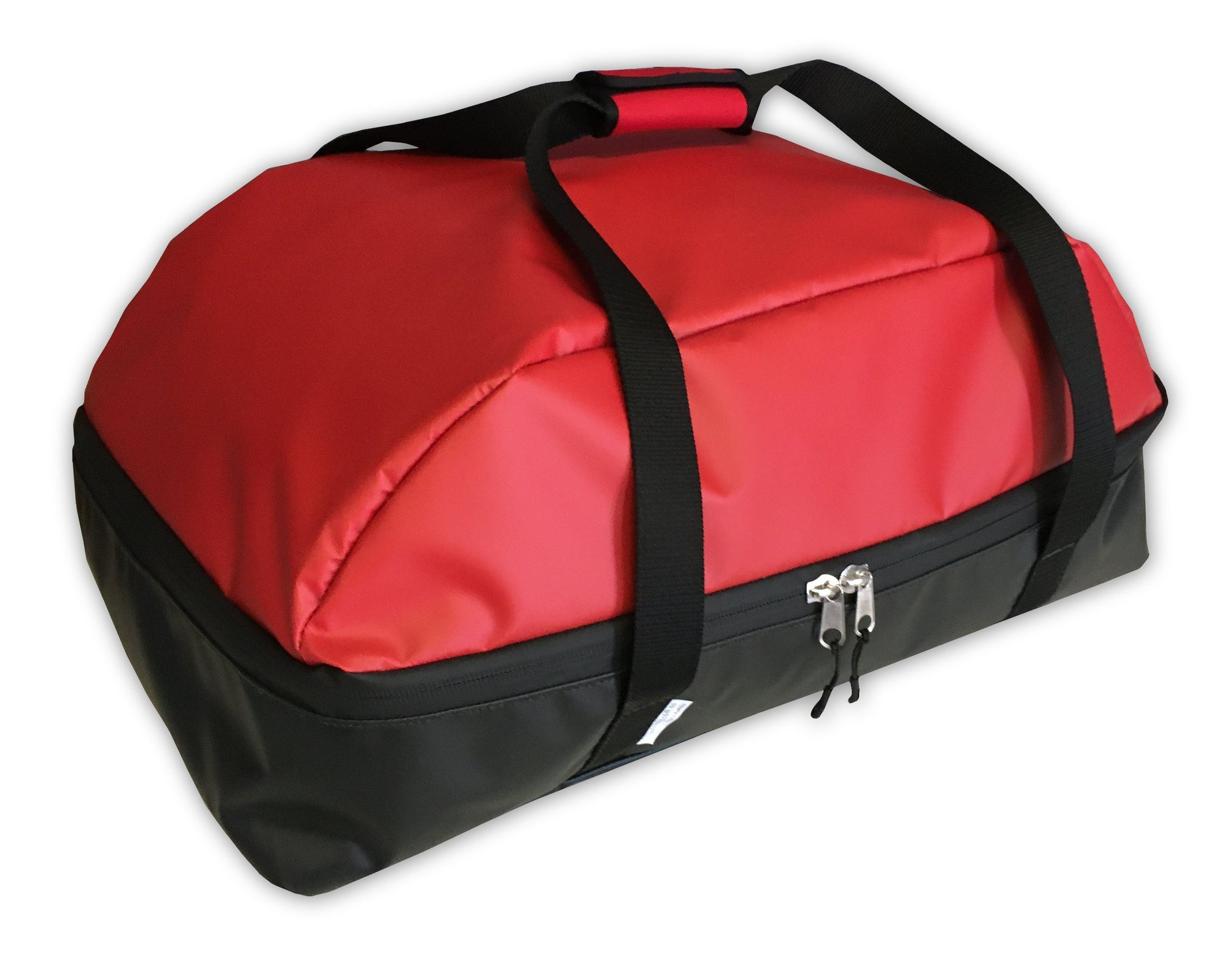 Ziegler And Brown 2 burner duffel bags for travelling picnic red