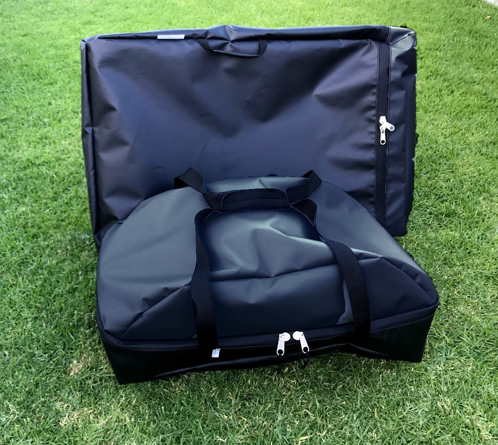 Weber value travel set Black coloured protect your Weber portable stand