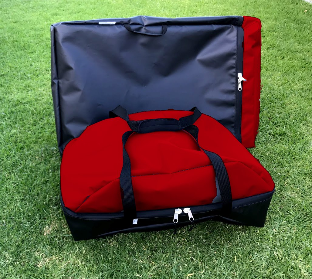 Weber value combination carry bag set. travel with your Weber Baby Q and the portable stand