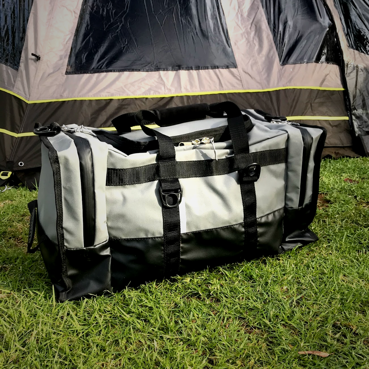 x2 Canvas Camping Bag by Outcamp
