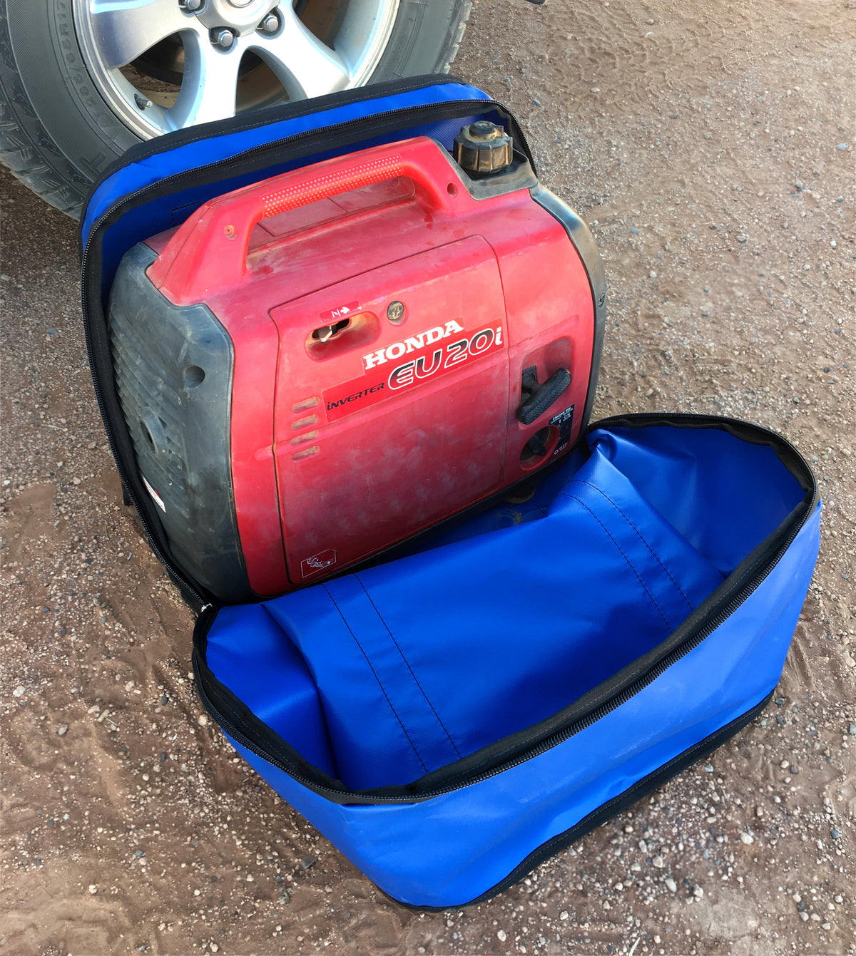 camping and caravan generator carry bag