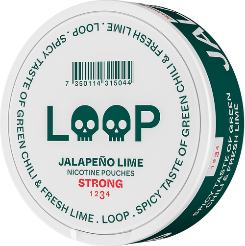LOOP JALAPEÑO LIME STRONG 15MG/G
