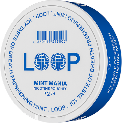 LOOP MINT MANIA 10MG/G