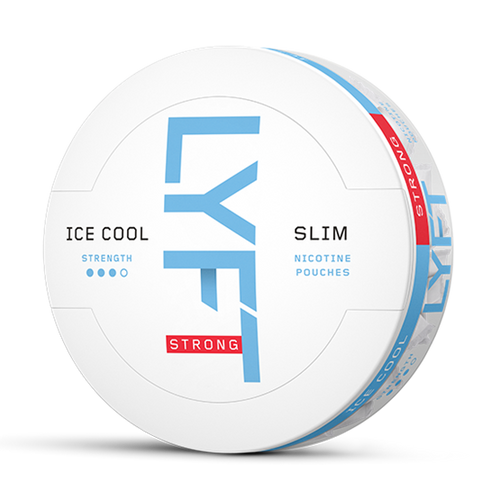LYFT ICE COOL STRONG MINT SLIM ALL WHITE