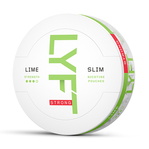 LYFT LIME STRONG SLIM ALL WHITE
