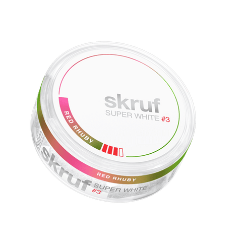 SKRUF SUPER WHITE SLIM FRESH STRONG NO 3