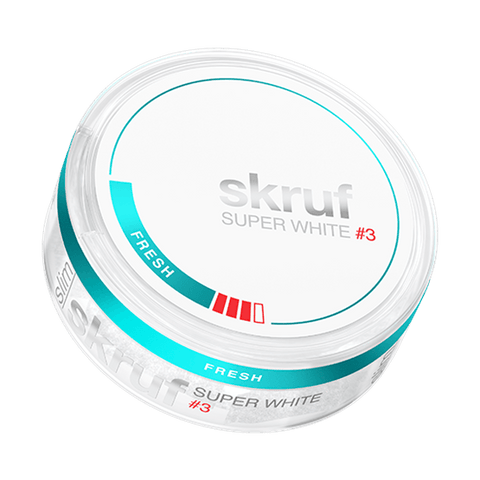 SKRUF SUPER WHITE SLIM POLAR #3