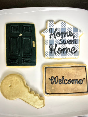 Home Themed Iced Sugar Cookies