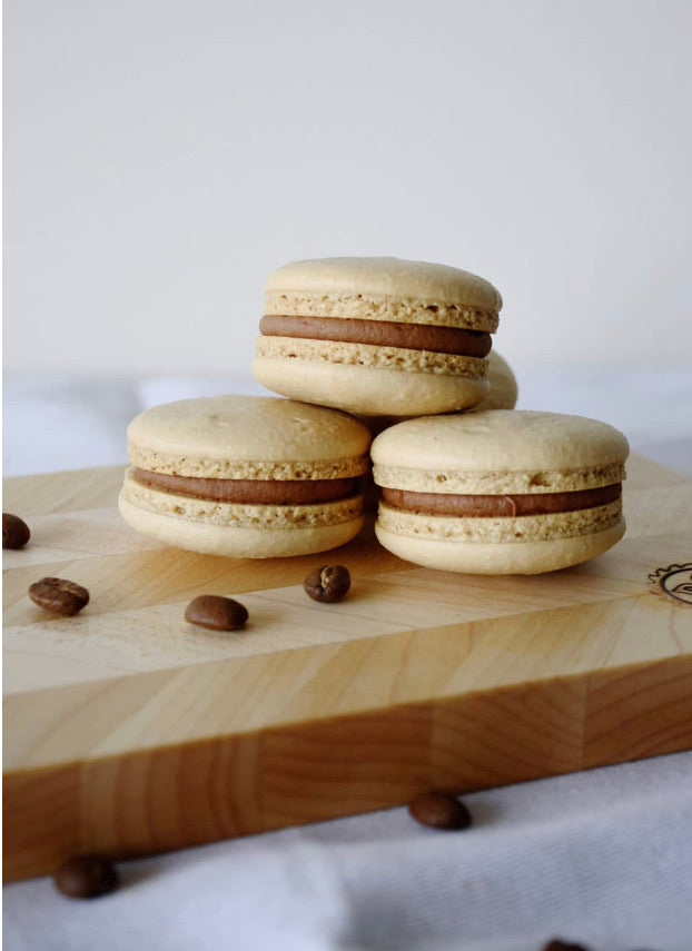 Coffee and Baileys Macarons