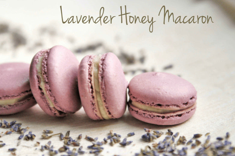 Lavender Honey Vanilla Macarons