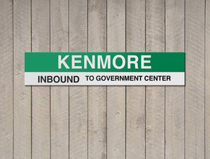 Kenmore - To Fenway