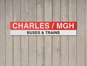 Charles MGH - Buses & Trains