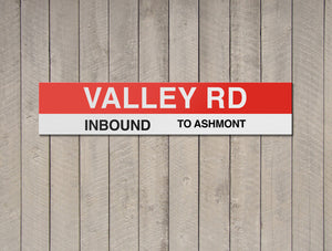 Valley Rd