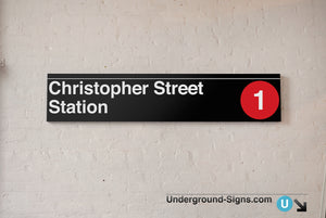 Christopher Street- Sheridan Square