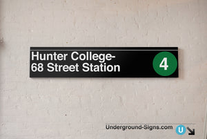 Hunter College-  68 Street