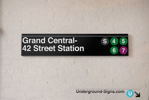 42 Street-Grand Central Station Sign