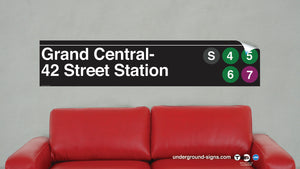 42 Street-Grand Central Vinyl Wall Decal