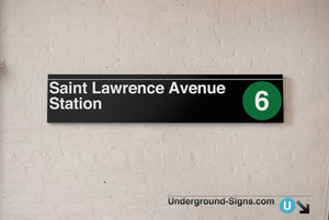 Saint Lawrence Avenue