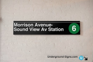 Morrison Avenue- Sound View Avenue