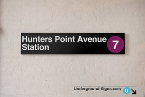 Hunters Point Avenue