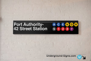 42 Street- Port Authority Bus Terminal