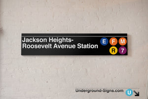 Jackson Heights- Roosevelt Avenue