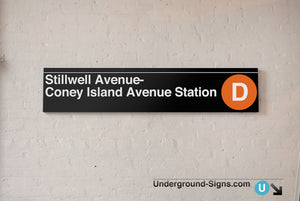 Stillwell Avenue- Coney Island Avenue