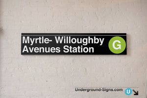 Myrtle- Willoughby Avenues