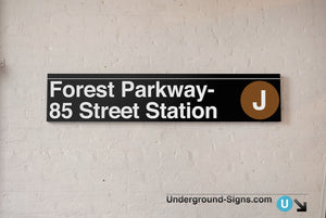 Forest Parkway- 85 Street
