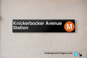 Knickerbocker Avenue