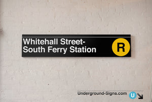 Whitehall Street- South Ferry